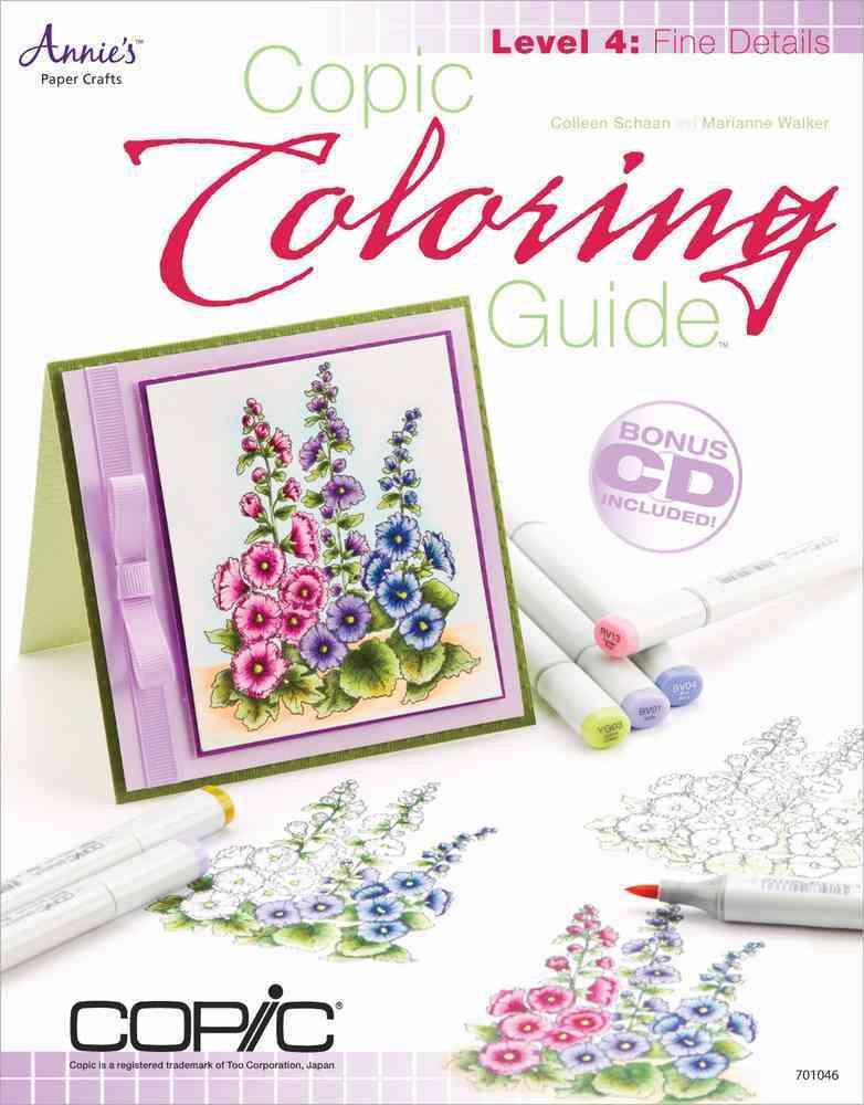 Copic Coloring Guide Level 4: Fine Details
