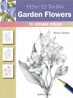 How to Draw Garden Flowers in Simple Steps (Paperback)