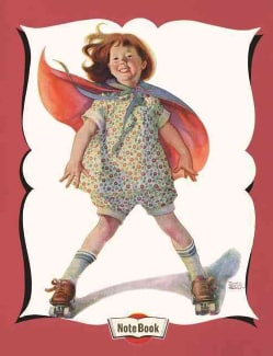 Hello Darling Notebook - Roller Skating Girl (Notebook / blank book)