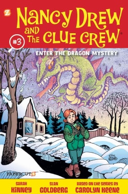 Nancy Drew and the Clue Crew 3: Enter the Dragon Mystery (Hardcover)