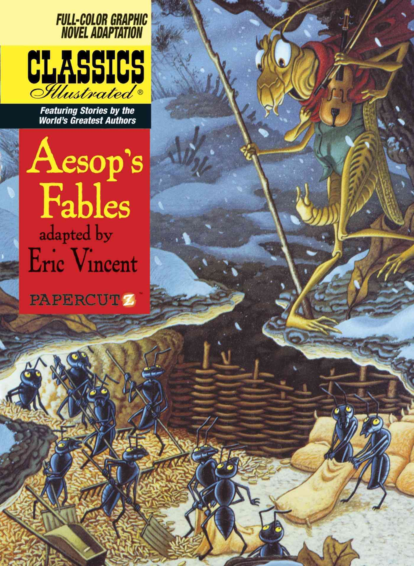 Classics Illustrated 18: Aesop's Fables (Hardcover)