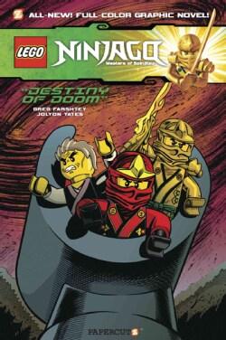 Lego Ninjago 8: Destiny of Doom (Hardcover)