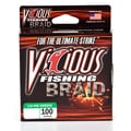 Vicious Braid 100 Yard Moss Green Fishing Line