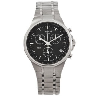 Tissot Men's T0774171105100 PRX Classic Black Dial Chronograph Watch