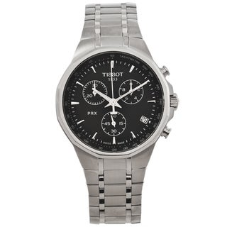 Tissot Men's PRX Classic Black Dial Chronograph Watch