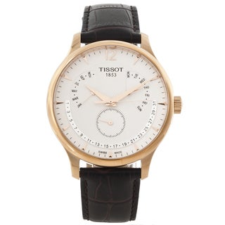 Tissot Men's T0636373603700 Rose-goldtone White Dial Watch