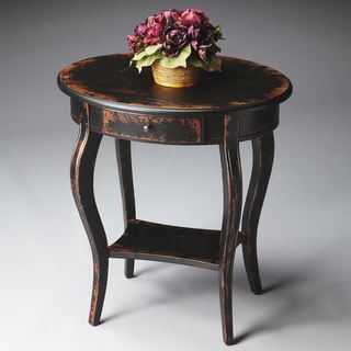 Midnight Rose Accent Table