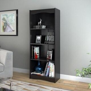 Porch & Den Alma Midnight Black 60-inch Bookcase