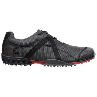 FootJoy Men's Charcoal/Black M Project Spikeless Golf Shoes