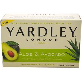 Yardley Fresh Aloe with Cucumber Essence Bar Soap