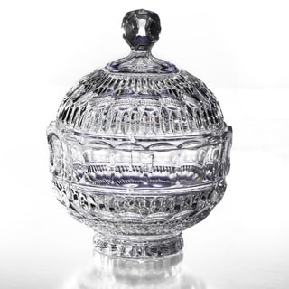 Fifth Avenue Crystal Princeton Crystalline Candy Jar with Lid