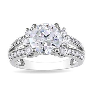 Miadora 14k White Gold 2 5/8ct TDW Diamond Ring (G-H, I1-I2)