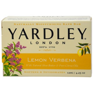 Yardley Lemon Verbena with Shea Butter Bar Soap