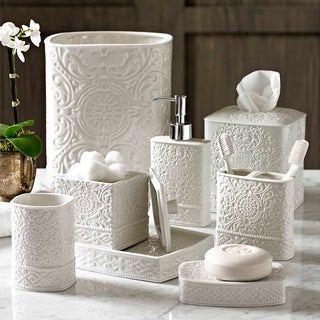 Trump Home Bedminster Damask Bath Accessory Collection