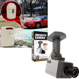 Driveway Patrol Rotating Imitation Security Camera System