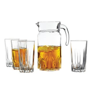 Fifth Avenue Crystal 'Florence' 5-piece Glass Beverage Set