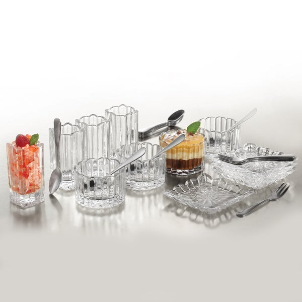 Crystal Clear Alexandria 25-piece Mixed Taster Set