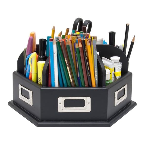 Studio Designs Black Wood Desk