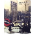 Four Panel 'Brooklyn Then and Now City' Room Divider