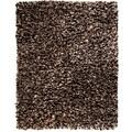 Modern Speckled Paper Shag Rug (5' x 8')
