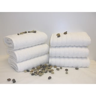 Maxima Turkish Combed Cotton 6-Piece Hand Towel Set