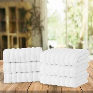 Maxima Turkish Combed Cotton Hand Towel (Set of 6)