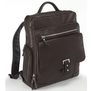 Bugatti Pretoria Columbian Leather Laptop Backpack