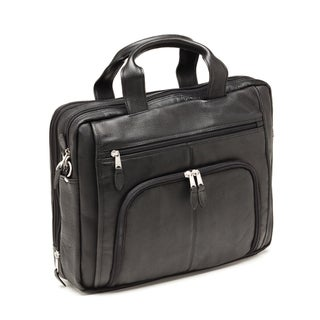 Bugatti Scottsdale Columbian Leather Executive Laptop Briefcase