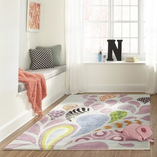 Hand-tufted Momeni Lil' Mo Hipster Funky Rug (5' x 7')
