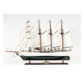 Old Modern Handicrafts Esmeralda Painted Model Ship