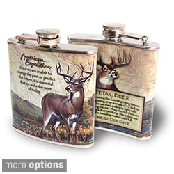 American Expedition Wildlife Steel Flask