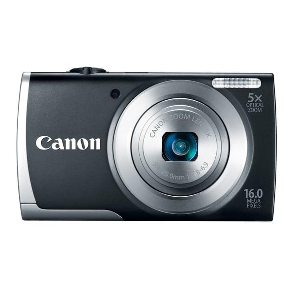 Canon PowerShot A2500 16MP Black Digital Camera