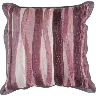Kylie Berry Stripe 18-inch Down Decorative Pillow