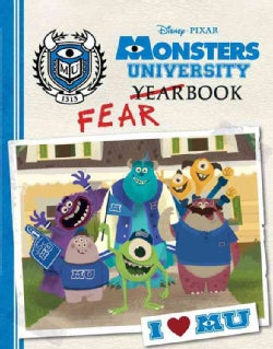 Monsters University Fearbook (Hardcover)
