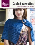 Cabled Shawlettes: Six Original Patterns to Knit (Paperback)