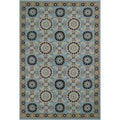 Hand-hooked Covington Suncrest Multi Indoor/ Outdoor Rug (3'6 x 5'6)