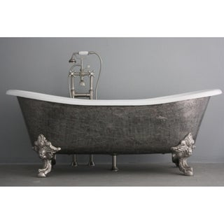 'The Bridlington' from Penhaglion 73-inch Cast Iron Bateau Bathtub