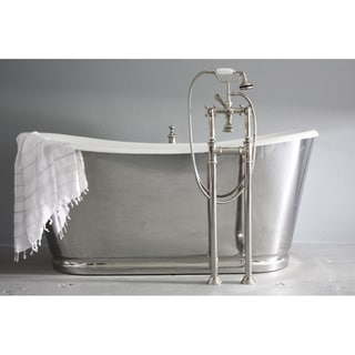 'The Lindisfarne' from Penhaglion 68-inch Cast Iron Bathtub