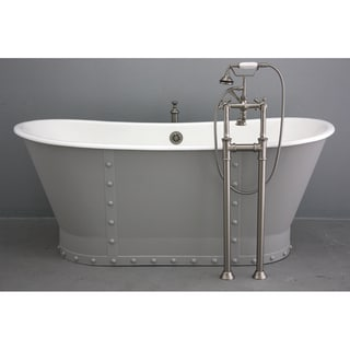 'The Langdon' from Penhaglion 68-inch Cast Iron Bathtub