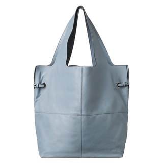 Givenchy 'George V' Large Pale Blue Leather Shopper Bag