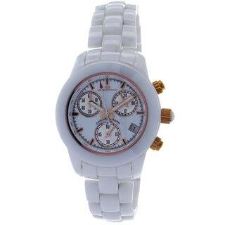 Oceanaut Women's Ceramic Chronograph Watch