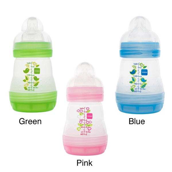 MAM Anti-Colic Single 5-ounce Baby Bottle