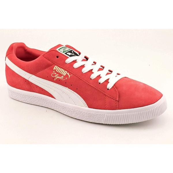 Puma Men's 'Clyde Script' Regular Suede Casual Shoes