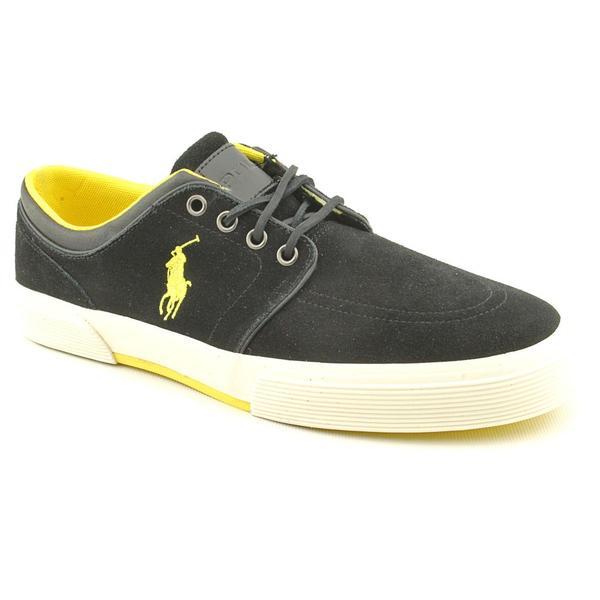 Polo Ralph Lauren Men's 'Faxon Low II' Regular Suede Athletic Shoe