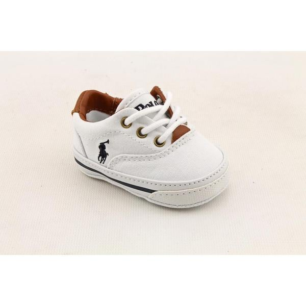 Ralph Lauren Layette Boy (Infant)'s 'Vaughn' Canvas Casual Shoes