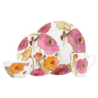 Lenox Floral Fusion 4-piece Porcelain Dinnerware Set