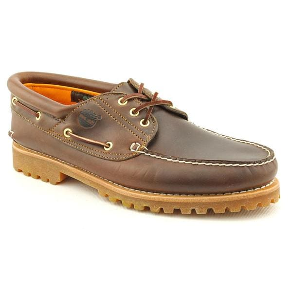 Timberland Men's 'Traditonal' Leather Casual Shoes (Size 13)