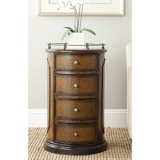 Safavieh Douglas Brown Storage Side Table