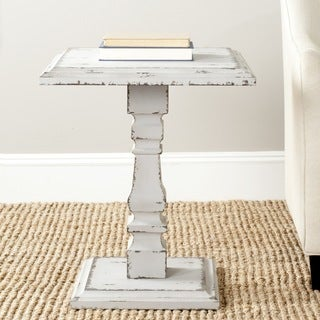 Safavieh Angela Antiqued Grey Side Table