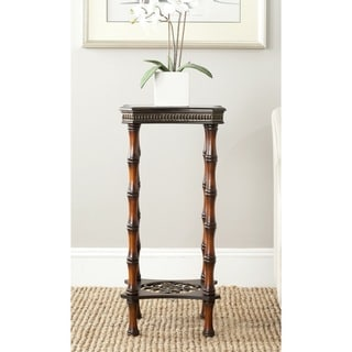 Safavieh Blanch Dark Brown Side Table